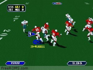NFL Blitz Screen Shot 2