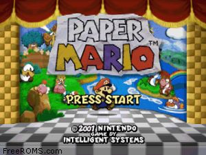 Paper Mario Screen Shot 1