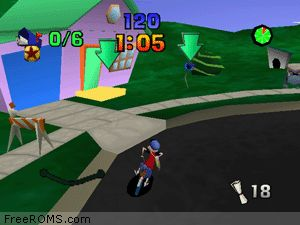 Paperboy ROM Download for N64