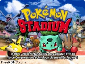 Pokemon Stadium Screen Shot 1