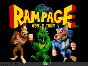 Rampage World Tour ROM Download for N64
