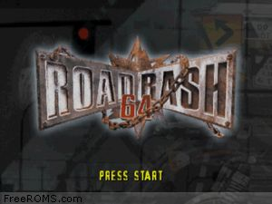 Road Rash 64 Screen Shot 1