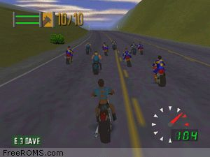Road Rash 64 Screen Shot 2