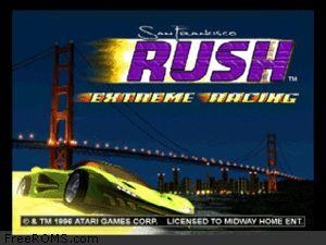 San Francisco Rush - Extreme Racing Screen Shot 1