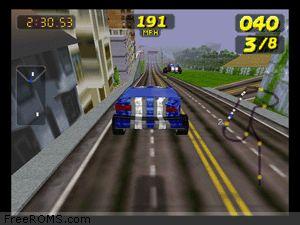 San Francisco Rush - Extreme Racing Screen Shot 2