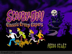 Scooby-Doo - Classic Creep Capers Screen Shot 1