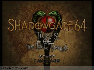 Shadowgate 64 - Trials of the Four Towers Screen Shot 1