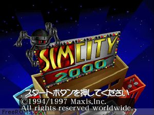 Sim City 2000 Screen Shot 1