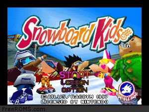 Snowboard Kids Screen Shot 1
