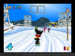 Snowboard Kids Screen Shot 2