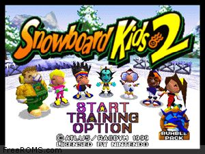 Snowboard Kids 2 Screen Shot 1