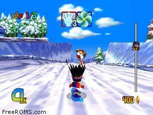 Snowboard Kids 2 Screen Shot 2