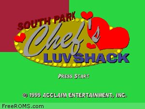 South Park - Chefs Luv Shack Screen Shot 1