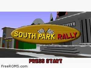 South Park Rally Screen Shot 1