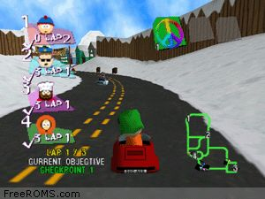 South Park Rally Screen Shot 2