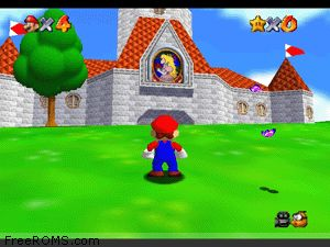 Super Mario 64 Screen Shot 2
