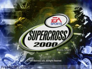 Supercross 2000 Screen Shot 1