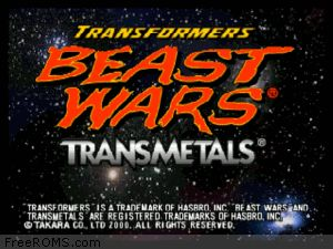 Transformers - Beast Wars Transmetals Screen Shot 1