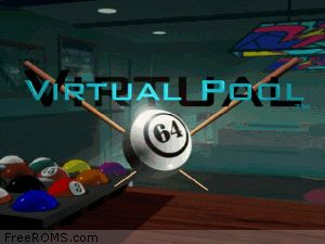 Virtual Pool 64 Screen Shot 1