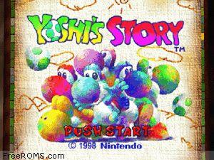 Yoshi's Story 64 Screen Shot 1