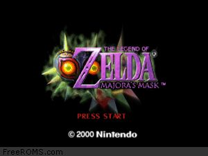 Zelda - Majora's Mask Screen Shot 1