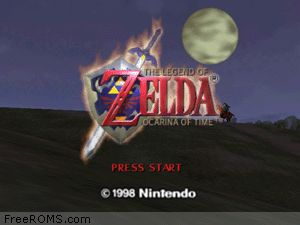 Zelda - Ocarina of Time Screen Shot 1