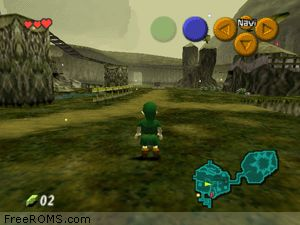 Zelda - Ocarina of Time Screen Shot 2