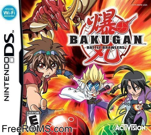bakugan battle brawlers nds ita
