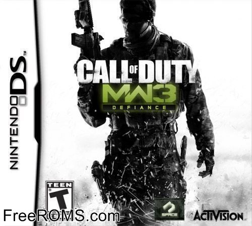 Call of duty modern warfare 3 defiance nintendo ds rom / nds rom.