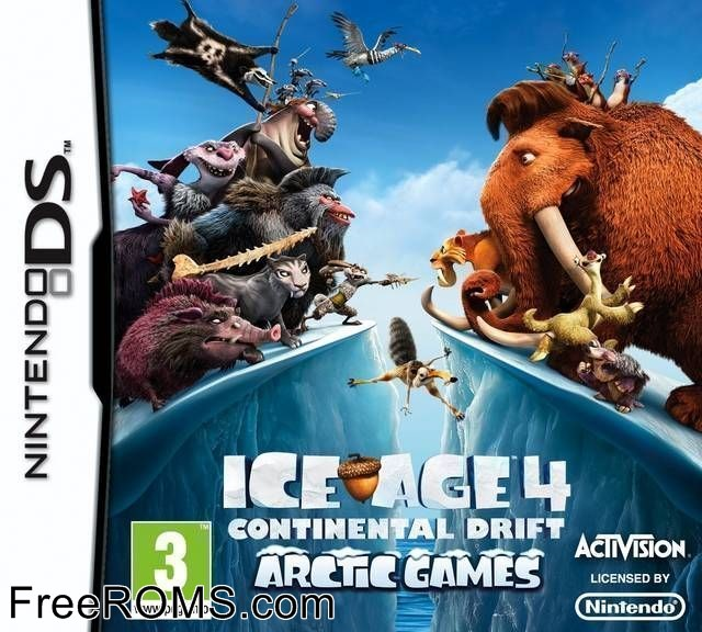 Ice Age 4 - Continental Drift - Arctic Games Europe Screen Shot 1
