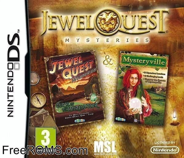Jewel Quest Mysteries - Two Pack Europe ROM Download for NDS