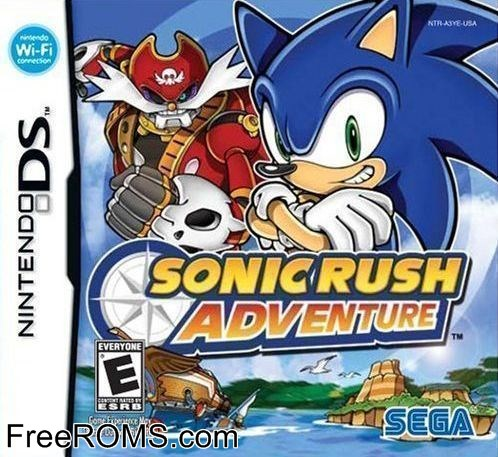 Sonic Rush Adventure ROM Download for NDS